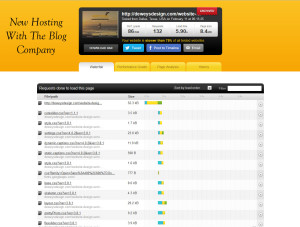 website designers blog on new server